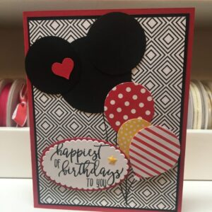 Made in Nevada Birthday Card – Fun Balloons