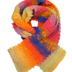 Made in Nevada June Bloom Hand-Crocheted Scarf – Cool Cotton Collection