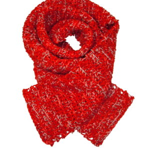 Made in Nevada Love-in It! – Hand-Crocheted Scarf – Cool Cotton Collection