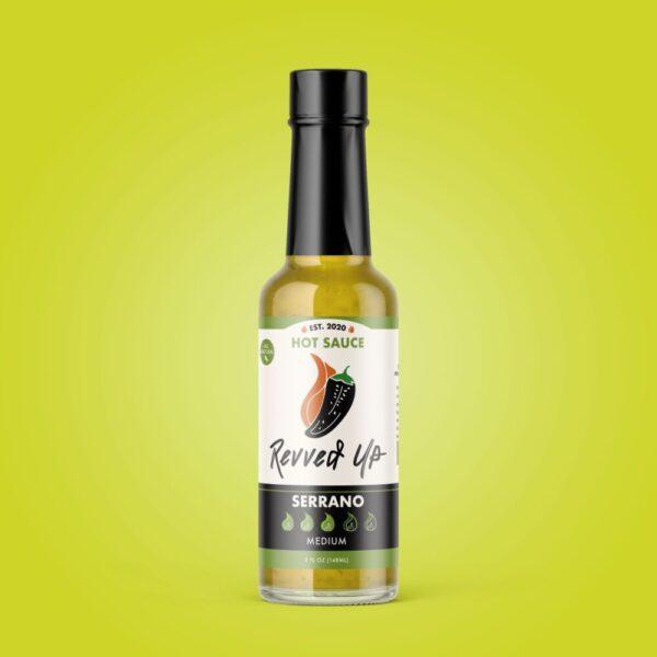 Made in Nevada Serrano Hot Sauce