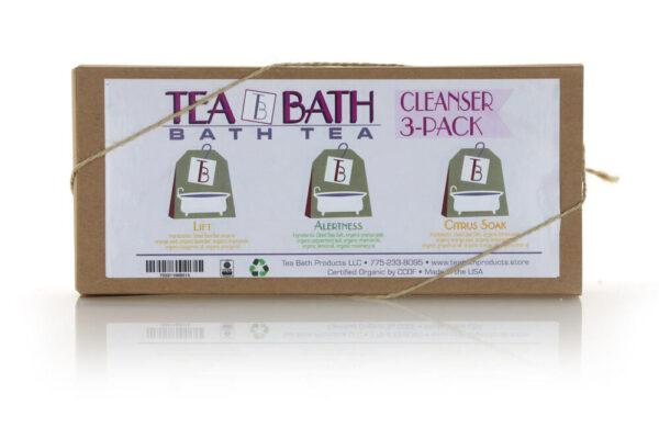 Made in Nevada Cleanser Tea Bath 3 pack