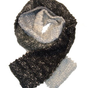 Made in Nevada Enlightenment Hand-Crocheted Scarf – Cool Cotton Collection