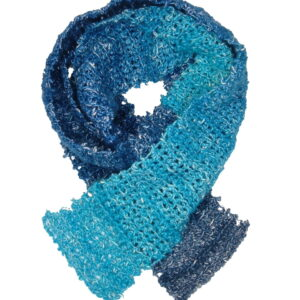 Made in Nevada H-Two-Oh, Cool Hand-Crocheted Scarf – Cool Cotton Collection