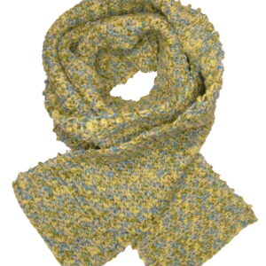 Made in Nevada Sub-lime Hand-Crocheted Scarf – Cool Cotton Collection