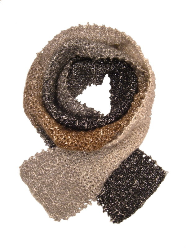 Made in Nevada Gemstoned Hand-Crocheted Scarf – Cool Cotton Collection