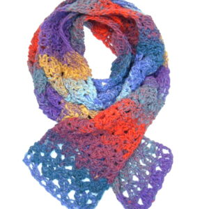 Made in Nevada Karafuru Hand-Crocheted Scarf – Cool Cotton Collection