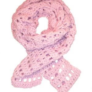 Made in Nevada Sq-wear Peg Hand-Crocheted Scarf – Cool Cotton Collection