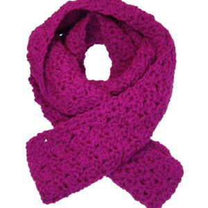Made in Nevada Vibrana Hand-Crocheted Scarf – Fall-Winter Collection