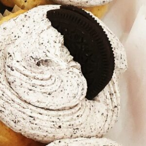 Made in Nevada Oreo cupcake