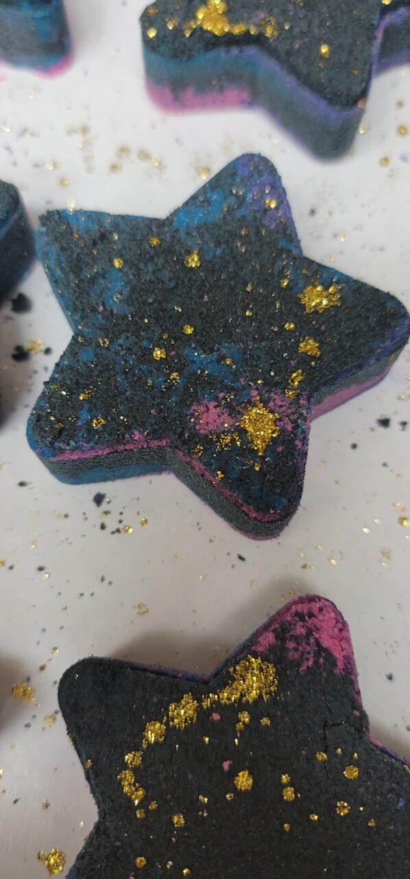 Made in Nevada Galaxy Star Bath Bombs