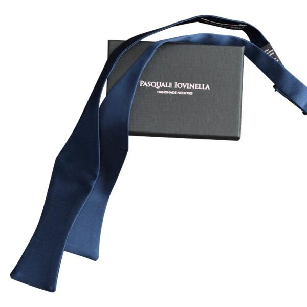 Made in Nevada Solid Blue bow tie