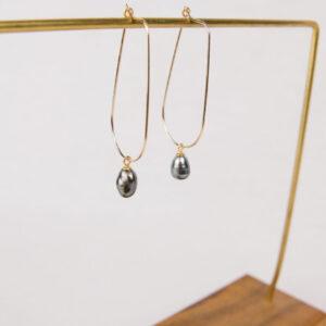 Made in Nevada Teardrops. Earrings.